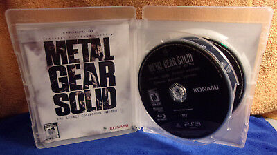 Metal Gear Solid The Legacy Collection 1987-2012 SONY PlayStation 3 PS3 Complete