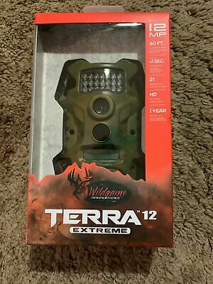 NEW Wildgame Terra Extreme 12 MP HD Infrared Digital Scouting Game Camera Trail