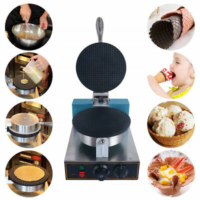 Nonstick Electric Egg Biscuit Roll Maker Machine Bake Machine Baker Baking Tool