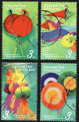 Thailand 2018 Children's Day set of 4 Fine Used