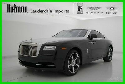 2015 Rolls-Royce Wraith WRAITH COUPE 2015 15 ROLLS ROYCE WRAITH COUPE * CERTIFIED * 2-TONE * MSRP $344K * ONLY 7K MLS
