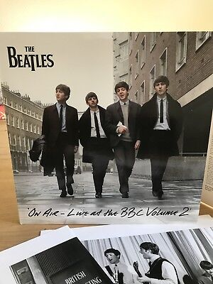 The Beatles On Air - Live At The BBC Volume 2 Mono 3x LP