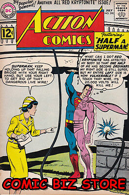Action Comics #290 (1962) Silver Age Dc 1St Printing Bagged & Boarded Vg+  5.0