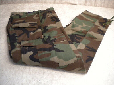 Army Hose Pants MilitaryTrousers woodland camouflage small-regular