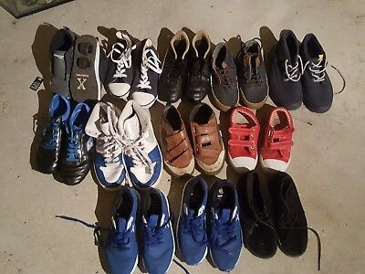 Job Lot 13pair size 11-12-13 ( one is 36,5)Kids Shose/trainers/Football&Rolling