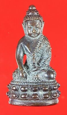 Rare and Nice!!! Phra kring Wat Suthat Yantra. Genuine,Thai Amulet,Rich Luck.