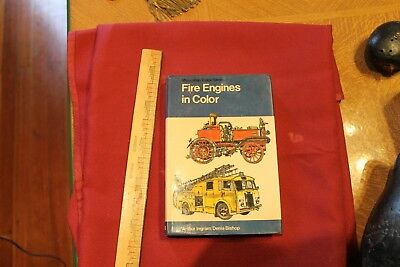 1973 Fire Engines in Color hardcover book 235 p. fire truck book illustrated