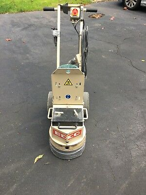 Edco concrete and polisher floor grinder