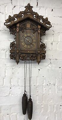 Vintage Black Forest Cuckoo Clock - Needs Attention