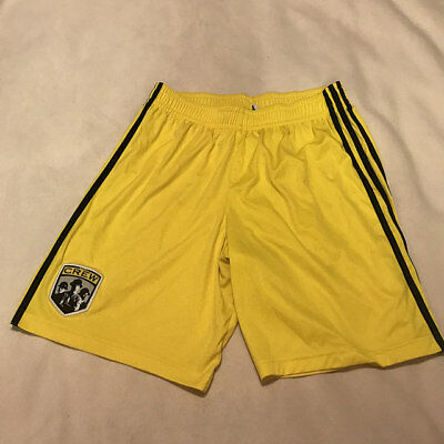 COLUMBUS CREW  1 Clark MLS Adidas Clima Cool Soccer Jersey Mens ... 70ad54cd0