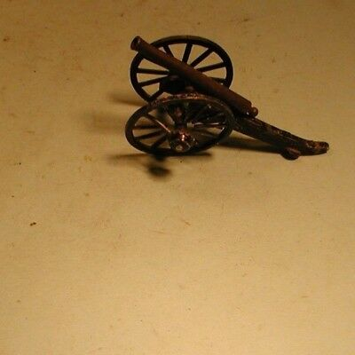 Vintage Cast and Brass Small Cannon