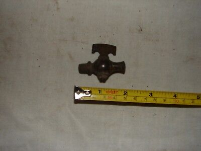Old Brass Valve Blow Off Petcock Hit Miss Gas Engine Vintage Antique