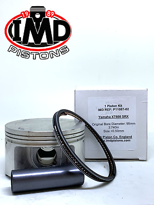 YAMAHA TT600 XT600 SRX 600 +0.5mm PISTON KIT 95.5mm NEW