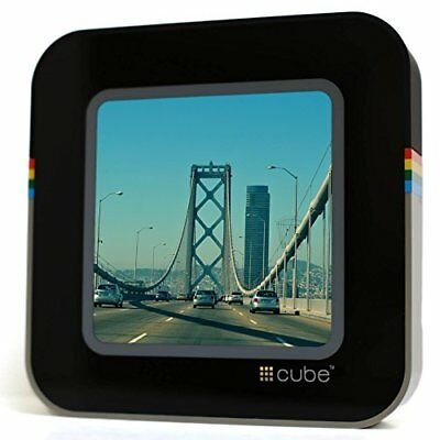 #CUBE Digital Picture Frame CUBE-0111 Instagram Stream Black + FREE DELIVERY