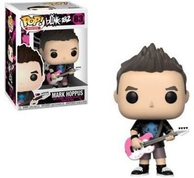 BLINK 182 - Mark Hoppus - Funko Pop! Rock (2018, Toy NUEVO)