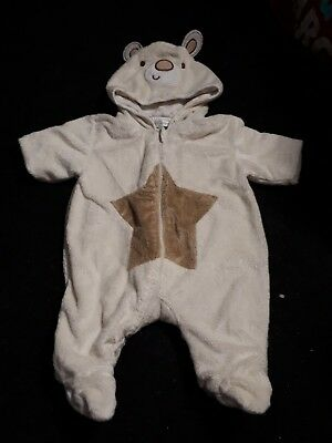 0-3 months all in one pram suit