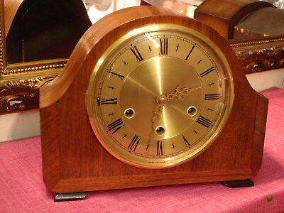 Magnificent, English, Vintage Westminster Chiming, mantel clock.Mint Condition