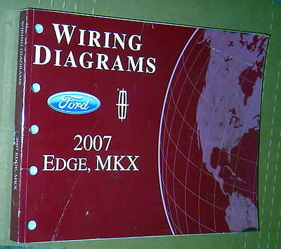 2007 lincoln mkx owners manual nav !!! $11 59 picclick2007 ford edge lincoln mkx factory wiring diagrams manual