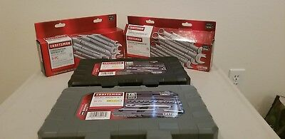 Craftsman Sae and Metric Tool Set, includes Wrenches and Sockets