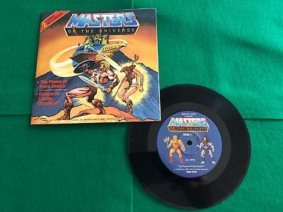 Masters of the Universe Mini Comic Book with Record and 2 Stories by Mattel