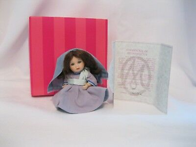 Marie Osmond Peace on Earth Petite Amour Mary Doll used w/box