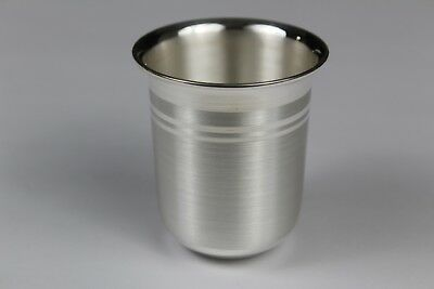 Pure Silver Drinking Glass (Perfect Gift for any Occasion) 28 Grams (0.98 Oz)