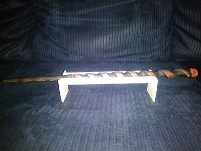 Magic wand, Harry Potter inspired, Hand carved, Cedar