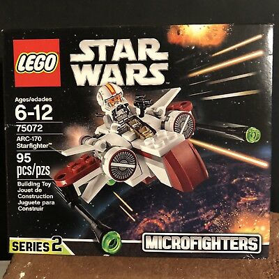 Arc 170 Starfighter Lego Star Wars 8088 Pieces Instructions Parts