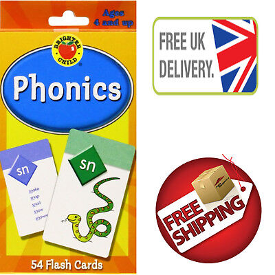 Kids Gift Flash Cards Phonics Brighter Child Educational Book for Babies Toddler
