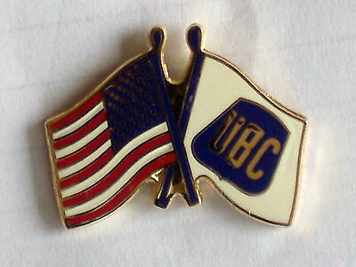 "Brand New Ubc Union Carpenter Flags Lapel /tie Pin ""show Your Union Pride"" New"