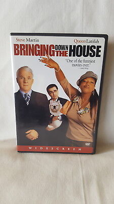 Bringing Down The House  DVD Widescreen Comedy By Steve Martin And Queen Latifah