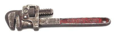 """Vintage Steelcraft 6"""" Adjustable Pipe Monkey Wrench Used"""
