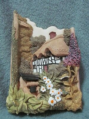 Lilliput Lane - Wishing Well Cottage - Wall Plaque