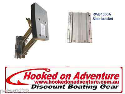 Outboard Bracket AND Aluminium Slide Bracket - Removable Mounting HOARWB1000/A
