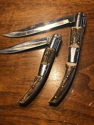 JJ Martinez Ratchet Knives Lot Of 2