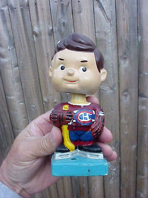 Vintage Bobble / Head Nodder * Ice Hockey Player * Japan Tag  6""