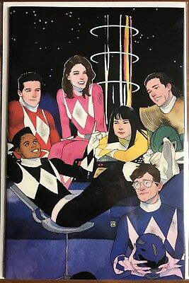 Mighty Morphin Power Rangers #1 1:50 Kevin Wada ⭐️
