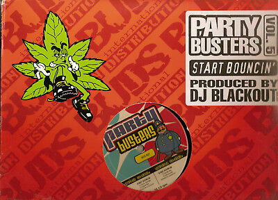 DJ Blackout (2) ‎– Party Busters Vol. 5 Start Bouncin'
