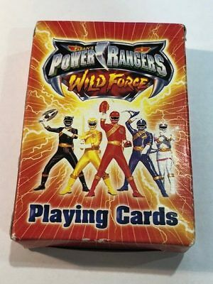Saban's Power Rangers Wild Force Playing Cards