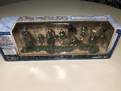 Lord Of The Rings Armies Of Middle Earth Fellowship Box Action Figure Set Sealed