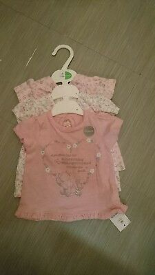 Pack Of 3 Baby Girls Tops
