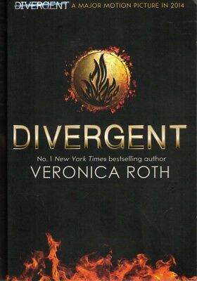 Divergent by Veronica Roth (Paperback, 2013) FREE POST + Tracking