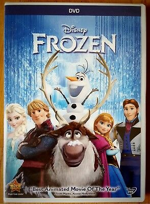 FROZEN (DVD, 2014) - Disney Animation Special Snow Edition - Brand New Sealed