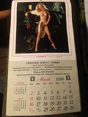 Chester Spring Works Eddystone PA 1986 PLAYBOY'S Playmates Calendar ShannonTweed