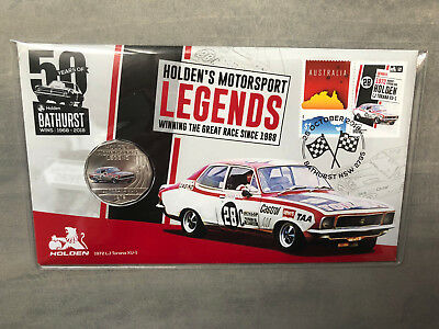 New Mint Uncirculated Holden 1972 LJ Torana XU1 50 Cent Coin PNC Limited to 7500