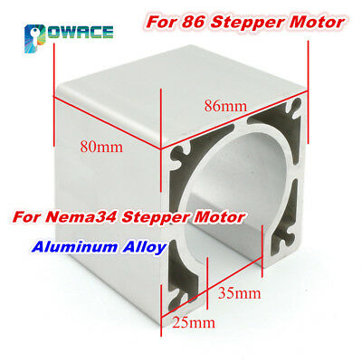 Nema34 Aluminum Alloy Bracket Motor Mount for 86 Stepper Motor Holder CNC Router