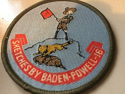 Girl Guides / Scouts Sketches by Baden Powell 16