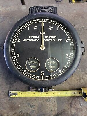Large gauge, rare, steampunk, lamp, man cave steam , industrial, made in USA