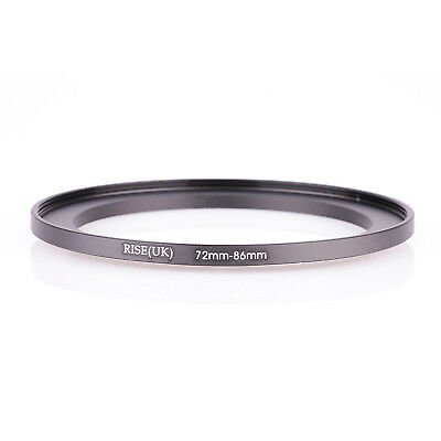 72mm-86mm Step Up Ring 72-86 DSLR Camera / 72mm Lens to 86mm Filter Cap Hood acc