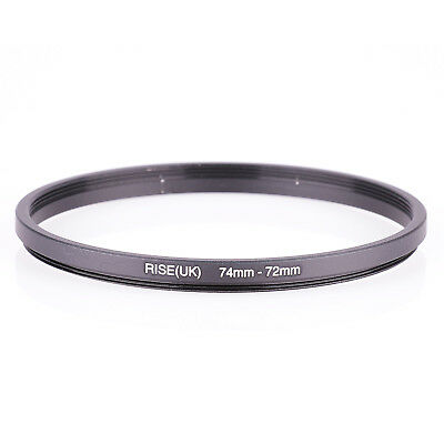 74mm To 72mm 74 To 72 74-72 Metal Step Down Filter Lens Ring Stepping Adapter